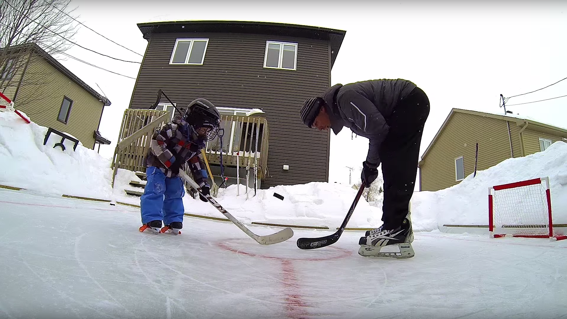 GoPro: Backyard Hockey