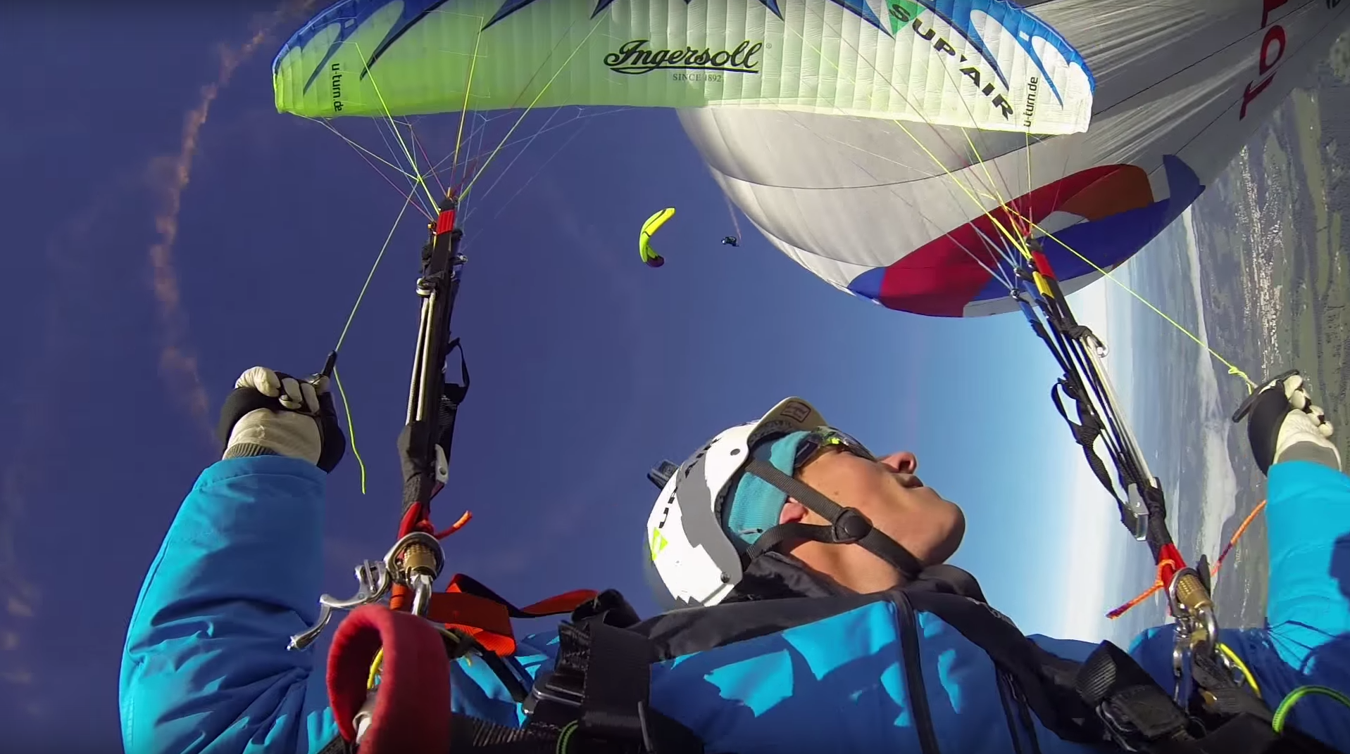 GoPro: High Altitude Paragliding