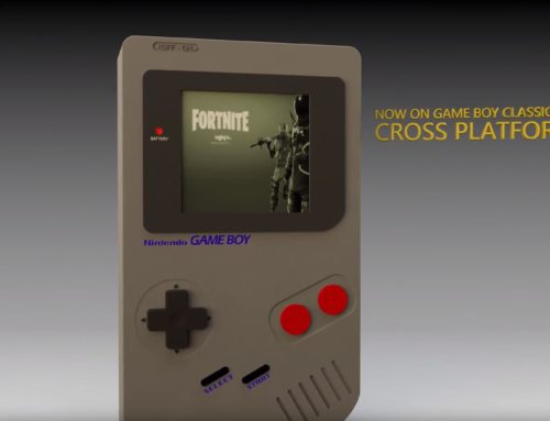 3D Modeling a Gameboy with Cinema 4D – Fortnite Special